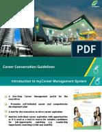 Career Conversation Guidelines 952010