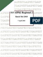 [Aipki] Soal Regional II Batch 2 2018