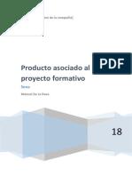 Preyecto Asociado Al Proceso Formatio
