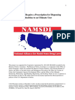States That Require a Prescription for Dispensing Ephedrine to an Ultimate User, December 2012
