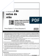 Aula 182 - Prova 33 - TCU - Auditor Federal