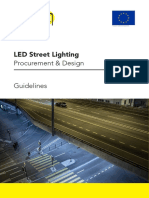 Premium Light Pro Outdoor LED Guidelines