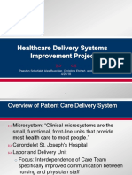 final qip- health care delivery systems