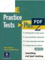 CAE Practice Tests Plus 2