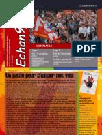 Lettre Electronique Echanges 2010 S37