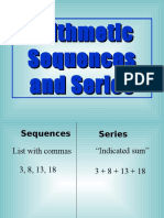 Arithmetic Sequences and Series.ppt