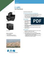 Eaton 5E Datasheet SEA