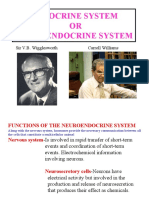5. Endocrine System or Neuroendocrine System