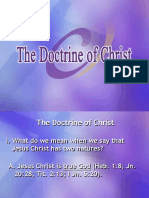 01_06_The_Doctrine_of_Christ.ppt