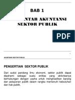 CHP 1 Pengantar Akuntansi Sektor Publik