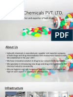 Bulk drugs Manufacturer, supplier and exporter Company in india.