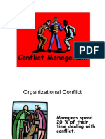 HRM II - Session 8 - Conflict Mgt