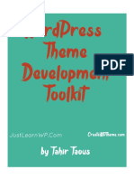 Tutorial Gratis WordPress Theme Development HandBook by Tahir Taous
