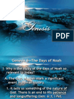 10 Genesis 6 the Days of Noah 1
