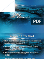 11 Genesis 7 9 the Flood 1