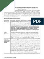 GSPD Sample Document