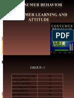 Consumer Behavior Final Ppt