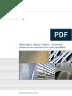 Profundidad, Diseño y Textura. La Tercera Dimensión en Superficies de Acero Inoxidable.pdf