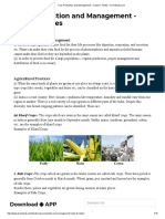 Crop Production and Management – Class 8 _ Notes – DronStudy.com