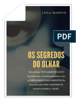 E Book O Segredos Do Olhar by Leila