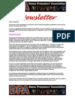 DPA Newsletter 1