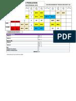 Jadual Waktu Persendirian Pindaan 20 Februari 2018 WP