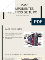 COMPONENTES INTERNOS DE TU PC