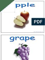 015 Vocabulario Alimentos Frutas (Voyaprenderingles.com)