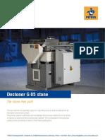 PETKUS Destoner G05