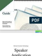 Speaker Application Guide 1