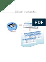 Gráfico representativo de una base de datos