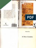 Mono Gramático Octavio Paz