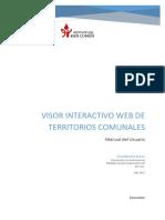 VISOR INTERACTIVO WEB DE TERRITORIOS COMUNALES