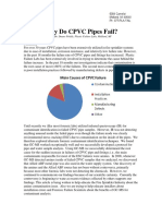 Why CPVC Pipes Fail