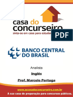 Apostila Bacen Analista Ingles Marcelo Portuga