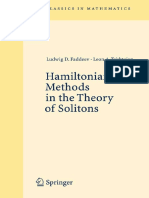 Hamiltonian Methods in the Theory of Solitons 3540698434