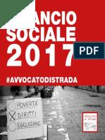Bilancio sociale 2017 Avvocato di strada Onlus