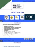 Basics of Boiler