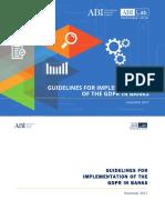 Italia en 17 Guidelines GDPR