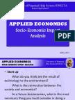 ABM AE12 012 Socio-Economic Impact Analysis