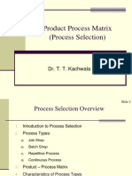 00Product Process Matrix