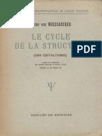 [Weizsacker] Cercle de La Structure