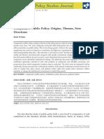 Wilder 2017 Policy Studies Journal