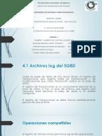 Presentación Base de Datos 4.1 4.2
