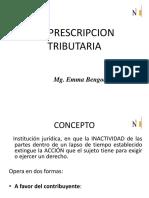 Prescripción Tributaria
