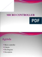 Microcontroller (8051)-A short description