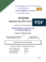 Rapport PFE C.G Et F.M