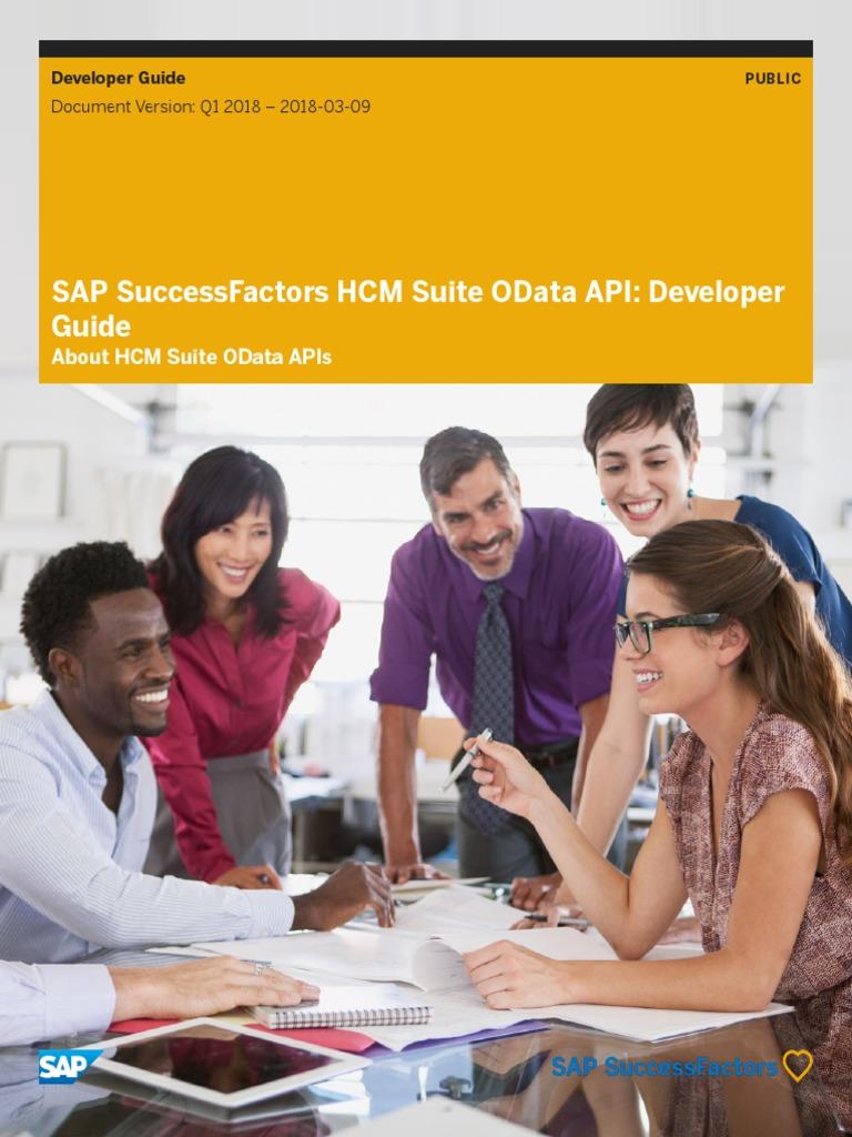 Sf Hcm Odata API Dev | Public Key Certificate | Http Cookie