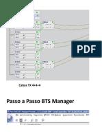Cabeamento interno BTS Manager 4+4+4