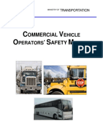 Commerical Vechicle Operators Safety Manual